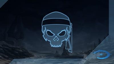 Chasseur de crânes Halo: CE: Bandana