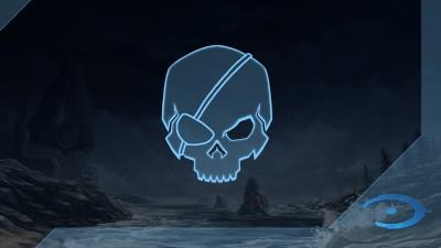 Chasseur de crânes Halo: CE: Borgne