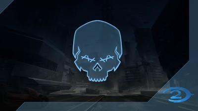 Chasseur de crânes Halo2: Aveugle
