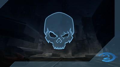 Chasseur de crânes Halo2: Œil noir
