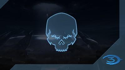Chasseur de crânes Halo3: Aveugle