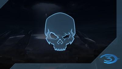 Chasseur de crânes Halo3: Œil noir