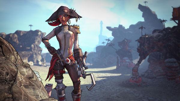 Le capitaine Scarlett et son butin de pirate