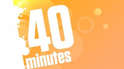 Entraînement de 40 minutes