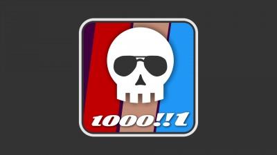 1 000 victimes