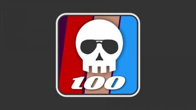 100 victimes