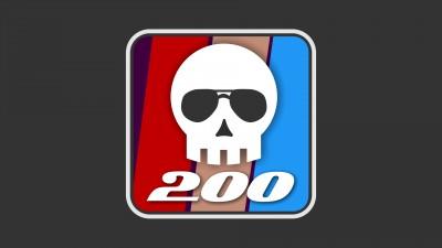 200 victimes