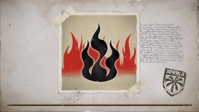 À travers le feu…