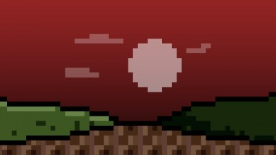 Lever de lune rouge