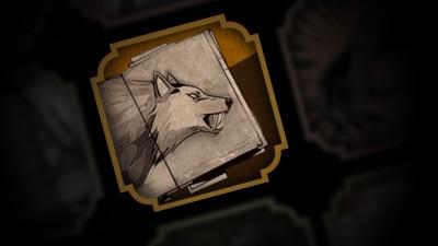 Un grand loup