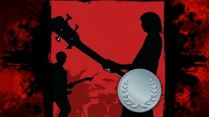 Rock and Roll (Silver)