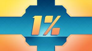 Le 1% restant