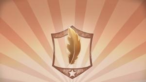 Plume de bronze