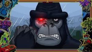 Gorille en noir