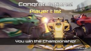 Win the chanpionship in the 1st Season!
