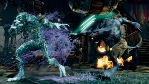 Sabrewulf sparring-partner