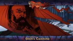 L'entraînement de Sven