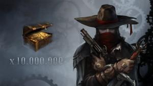 Dépenser 10 millions de pièces d'or.