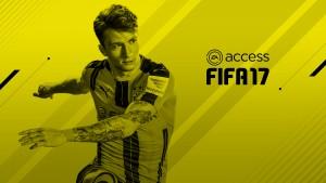 Succès défi FIFA 17 EA Access