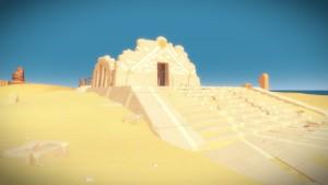 Ruines du désert
