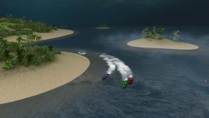 Caribbean Island Track - Level 6