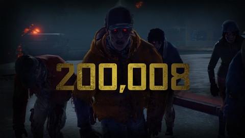 Extermination massive de zombies