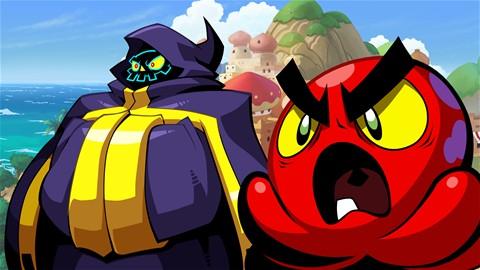 Shantae contre l'important Baron Squid