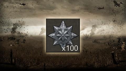 Argent x100