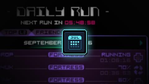 Full week runner