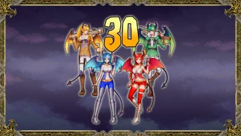 Tous les personnages au niveau30