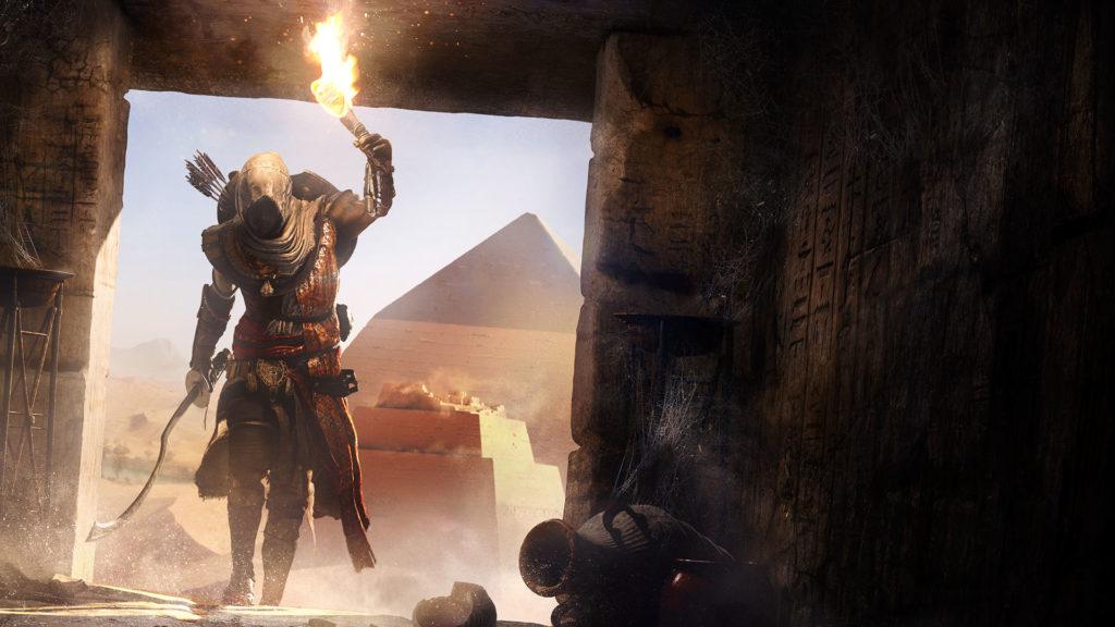 Ubisoft insiste avec Assassin's Creed Origins.