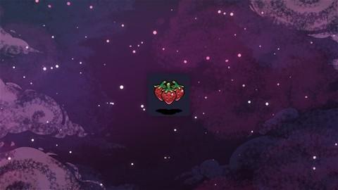 Médaille fraise