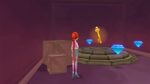 Key in History of Magic room