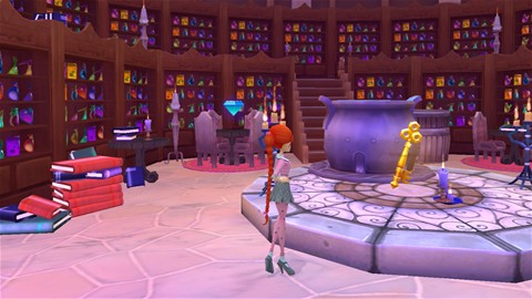 Key in Potionology room