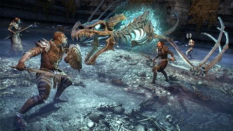 Spéléologue des Ossements du dragon