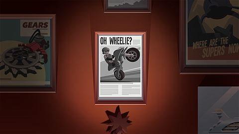Deux roues ? Non, une !