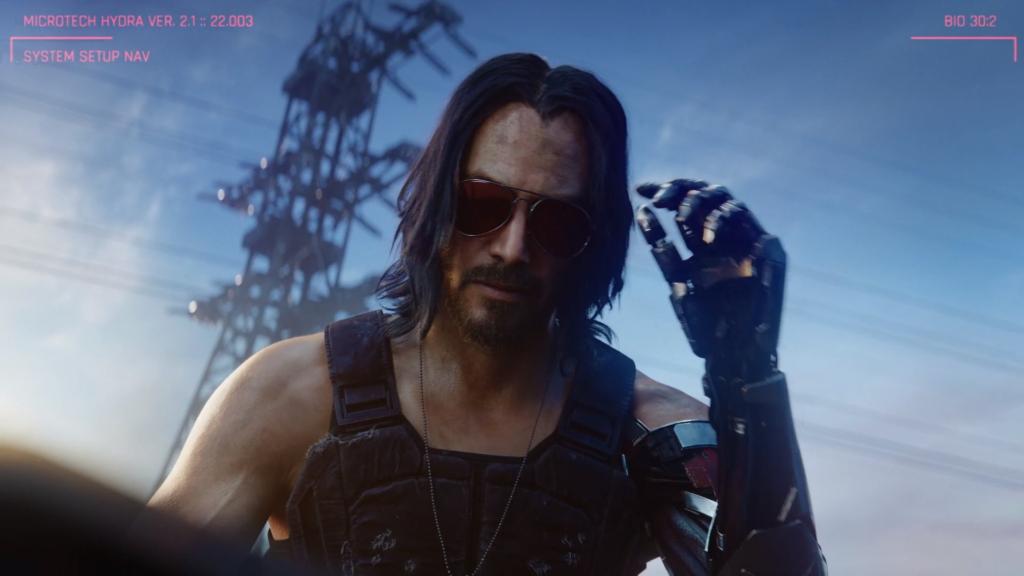 Cyberpunk 2077 ne sortira plus au mois d'avril