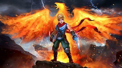Blades of the Pyromancer