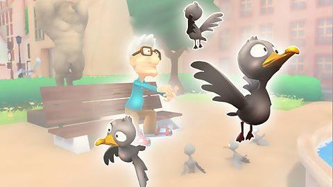 Chasse aux pigeons