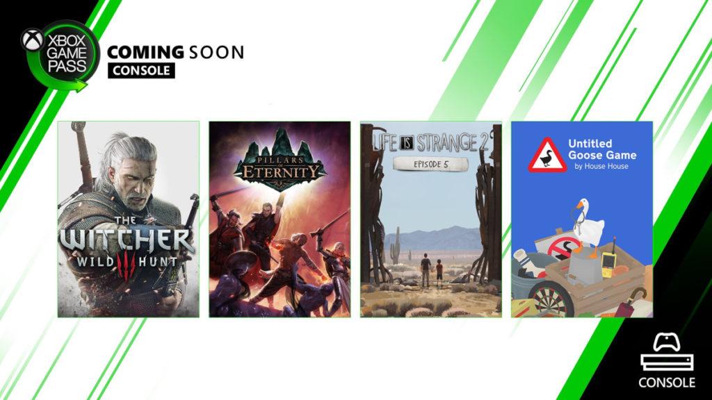 Le Xbox Game Pass accueille quatre nouveaux titres dès aujourd'hui