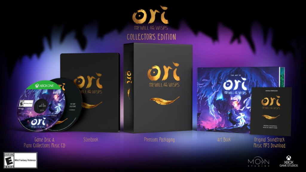 Ori and the Will of the Wisps Collectors edition