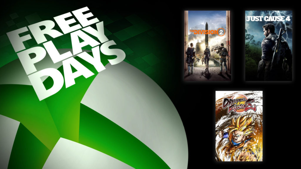image des Free Play days du 022720