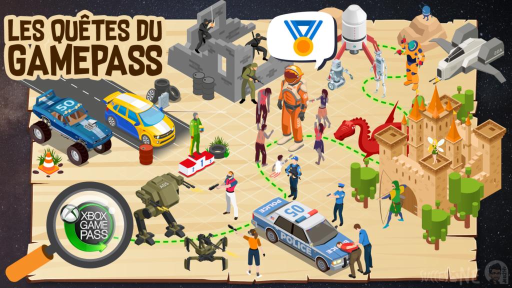 MàJSuccesOne vous présente les quêtes Xbox Game Pass de novembre