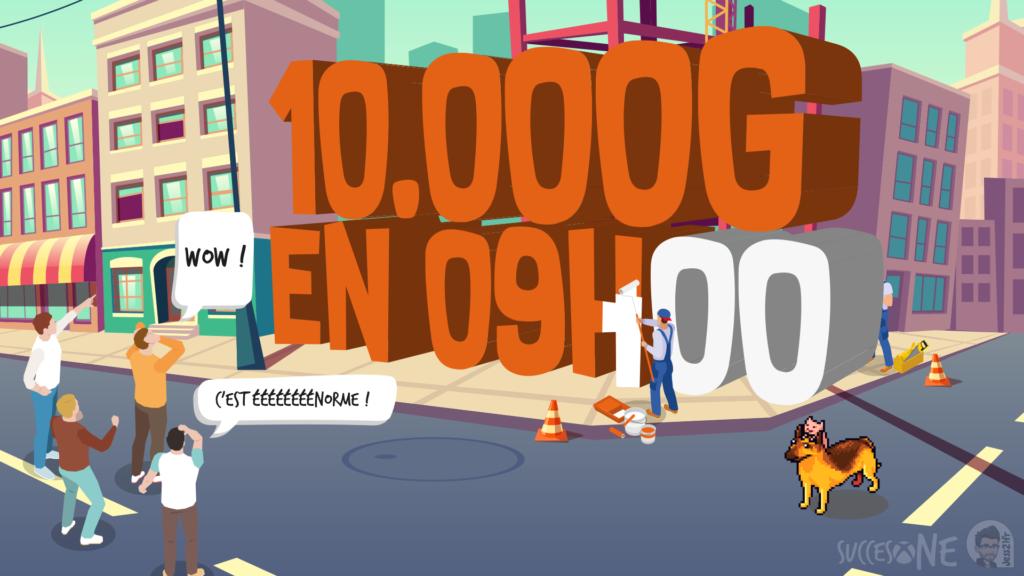 Gagnez 10.000 G en moins de 9 heures avec les jeux Ratalaika