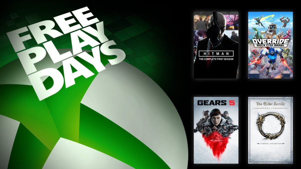 Free Play Days: Quatre titres disponibles ce week-end