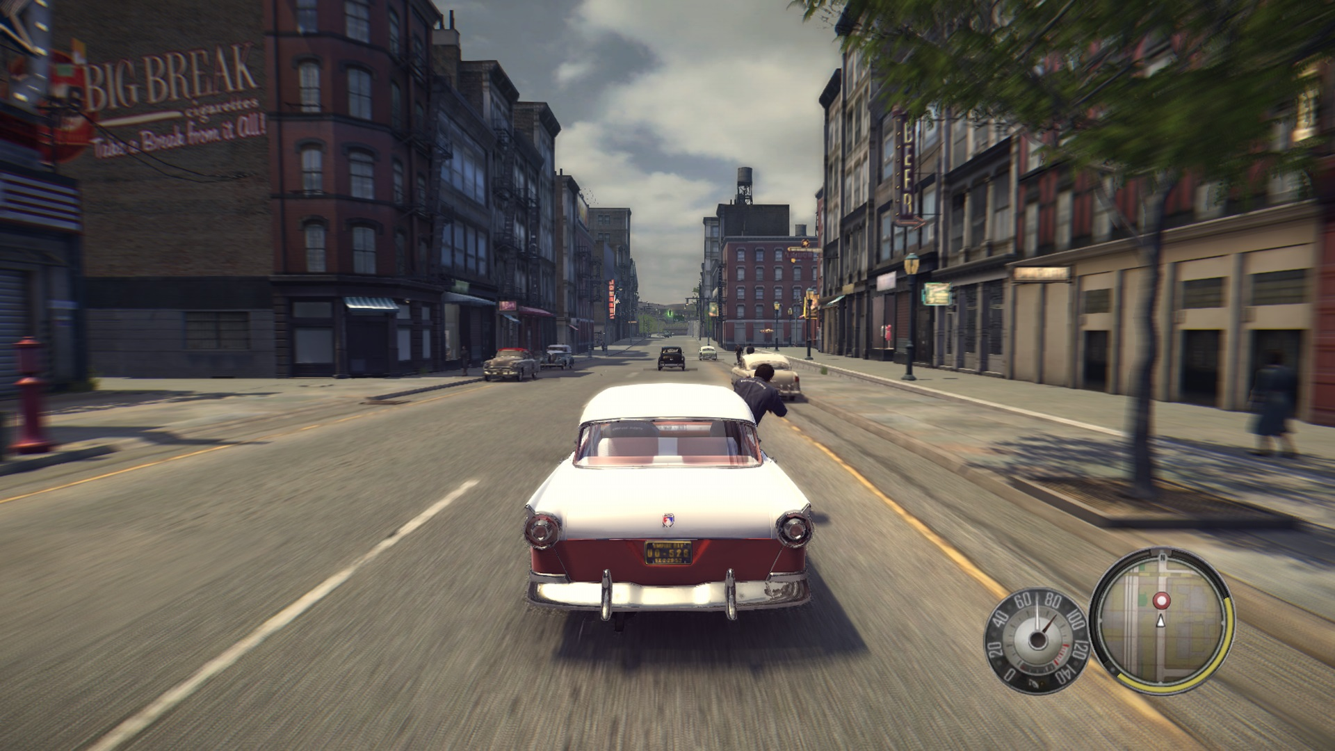 Mafia II Remaster Course poursuite