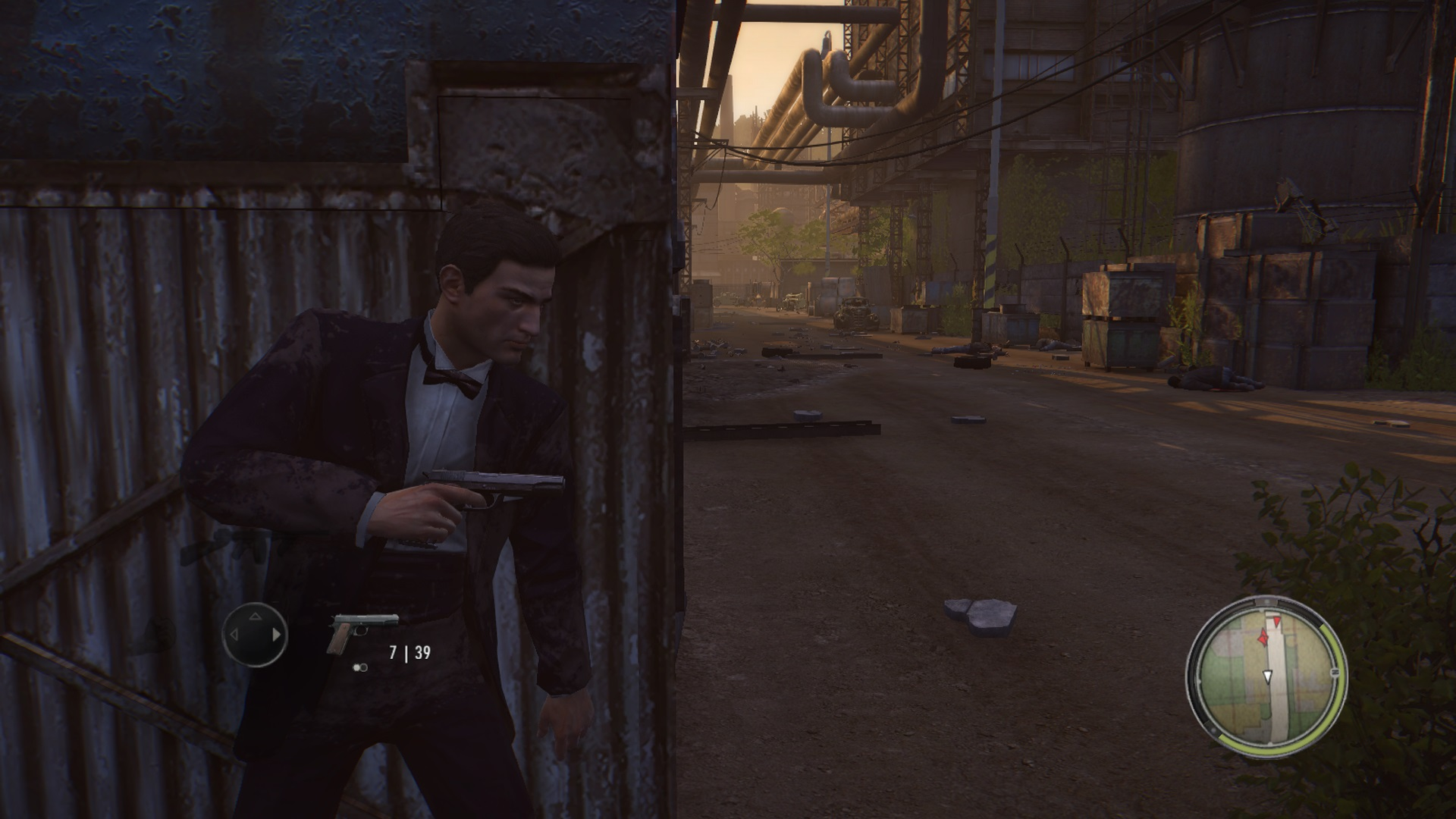 Mafia II Remaster Gunfight