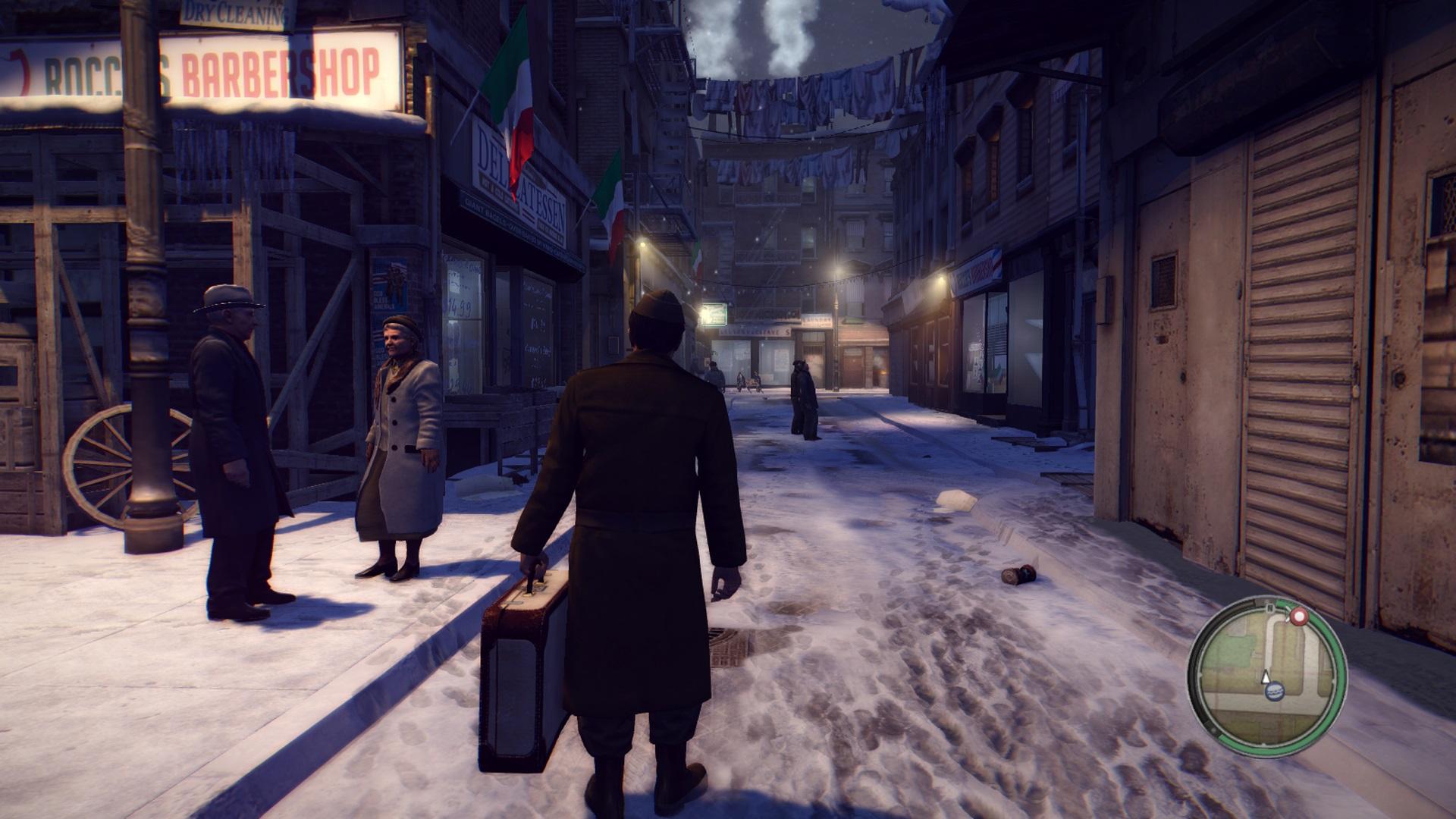 Mafia II Remaster sous la neige