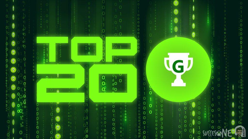 Le Top 20 des chasseurs de SuccesOne en juillet 2020