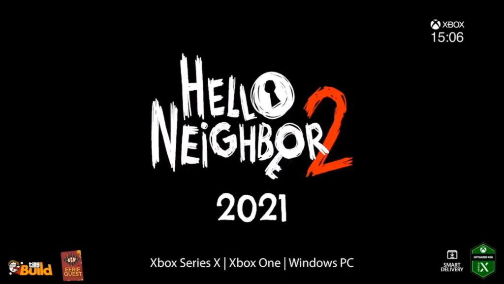 Hello Neighbor 2 s'invitera chez vous en 2021 sur Xbox Series X et Xbox One